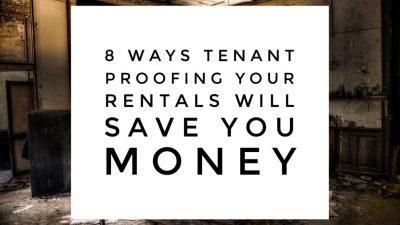8 ways tenant proofing