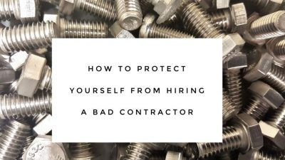 bad contractor